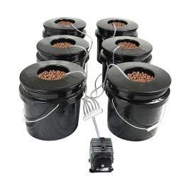 indoor grow tent hydro setup