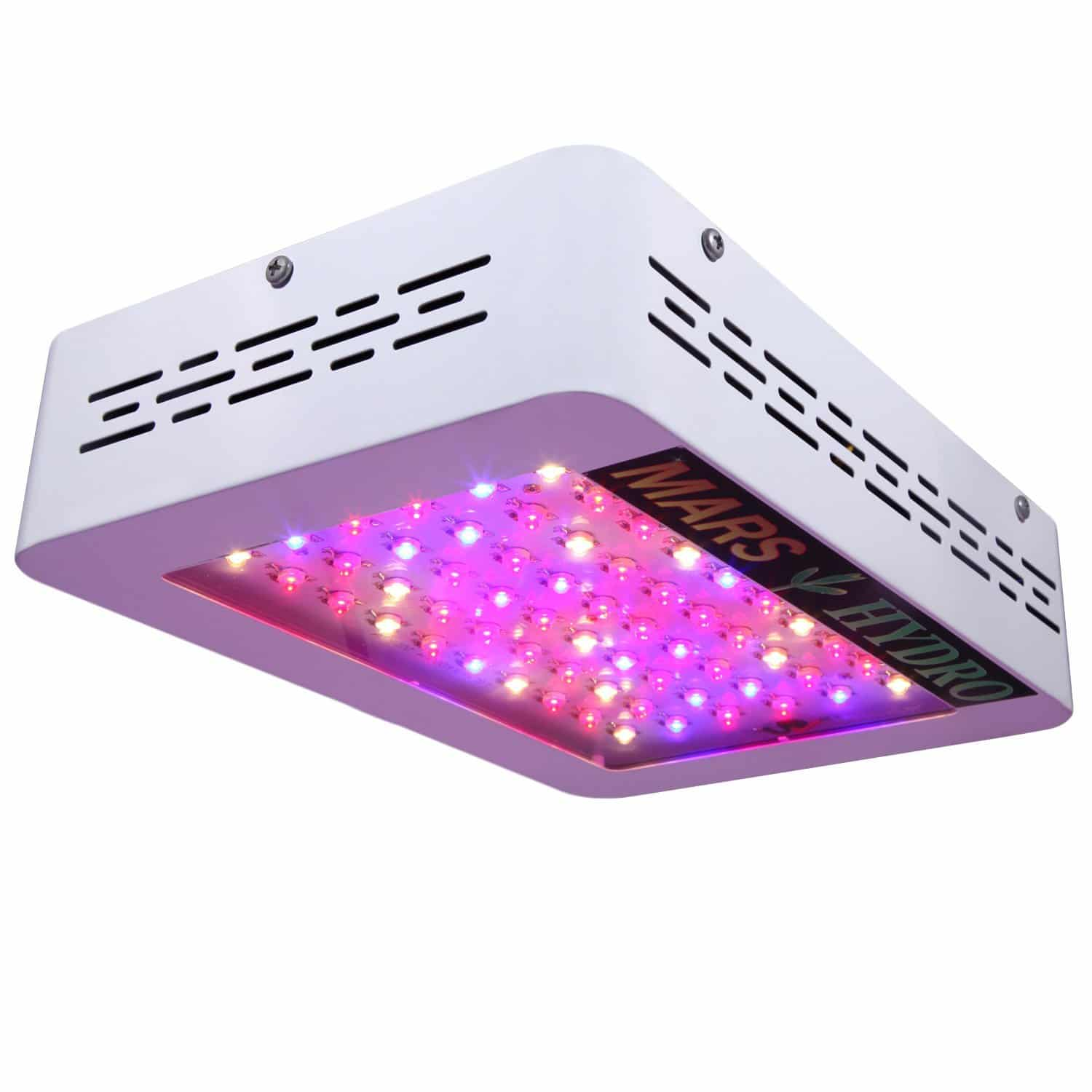 Mars Hydro Mars 300w LED Grow Light with Veg/Bloom Spectrum for Indoor Tent Growing 132W True Watt Panel