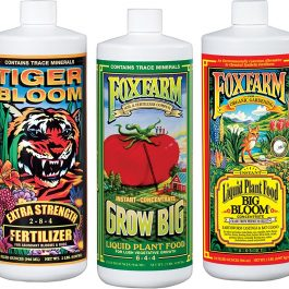 Fox Farm FX14049 Liquid Nutrient Trio Soil Formula: Big Bloom, Grow Big, Tiger Bloom Grow Tent Accessories