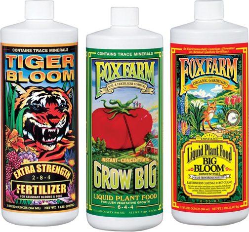 Fox Farm FX14049 Liquid Nutrient Trio Soil Formula: Big Bloom, Grow Big, Tiger Bloom Grow Tent Accessories