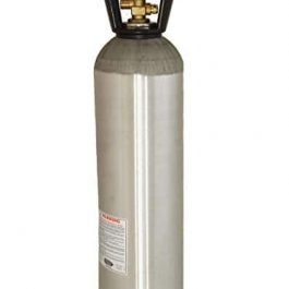 20 lb. Aluminum Co2 Tank Compressed Gas Air Cylinder for Keg Beer Grow Tent Accessories