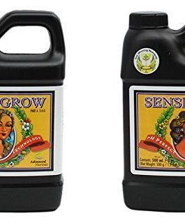 Advanced Nutrients 6201-13AB pH Perfect Sensi Grow Part A+B, 500 mL, 0.5 Liter, Brown/A