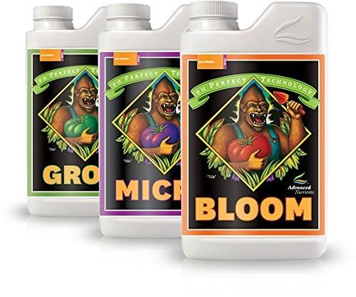 Advanced Nutrients pH perfect Grow, Micro, Bloom, 3-Part Base Nutrient
