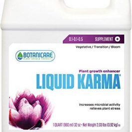 Botanicare BC32302 1-Quart Liquid Karma Plant Stimulant Grow Tent Accessories