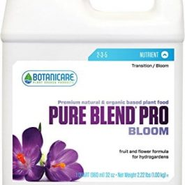 Botanicare Pure Blend Pro Bloom Organic Compost Solution Qt Grow Tent Accessories