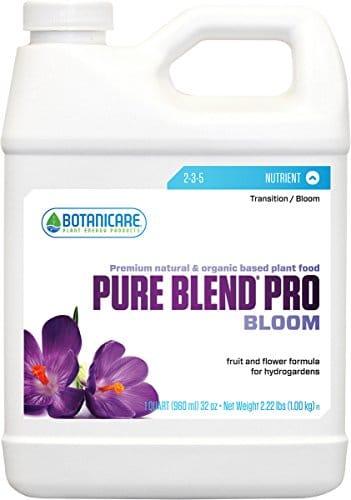 Botanicare Pure Blend Pro Bloom Organic Compost Solution Qt Grow Tent Accessories