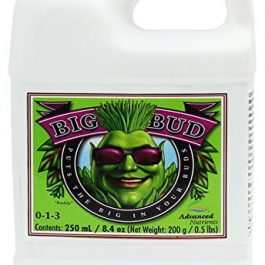 Advanced Nutrients GL525050-12 Big Bud Liquid Fertilizer, 250 mL.250 Liter, Brown/A Nutrients