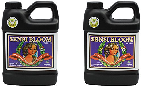 Advanced Nutrients 1660-13AB pH Perfect Connoisseur Bloom Part A+B, 500 mL, 0.5 Liter Nutrients