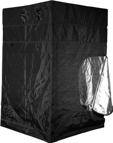 Gorilla Grow Tent GGT55 Grow Tent, 5 by 5 by 6-Feet/11-Inch, Black Grow Tents