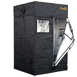 Gorilla Grow Tent | Complete Heavy-Duty 1680D Reflective Hydroponic Grow 4-Foot by 4-Foot Tent for Growing Indoor Plants… Grow Tents