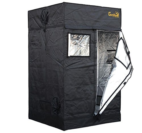 4′ x 8′ x 6'7″  Adjustable Height Grow Tents