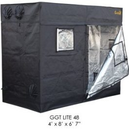 Gorilla Grow Tent Lite Line | Complete 4-Foot by 8-Foot Reflective Hydroponic Grow Tent for Growing Indoor Plants… Grow Tents