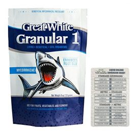 Plant Success Great White Granular 1 Beneficial Mycorrhizal Inoculant, 4 oz + Twin Canaries Chart Grow Tent Accessories