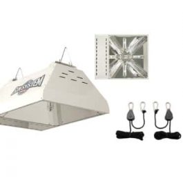 Sun System LEC 315 240v Light Emitting Ceramic Metal Halide Fixture w/ Free Ratchet Light Hangers Grow Lights