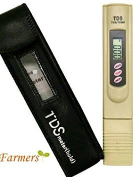 CityFarmer TDS Meter, Water Quality Tester, Accurate and Reliable, Hydroponic Nutrient Meter, Household Drinking Water…
