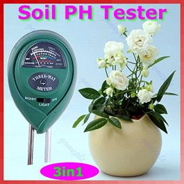 3 in1 Flowers Plant Soil PH Tester Moisture Light Meter hydroponics Analyzer Grow Tent Accessories
