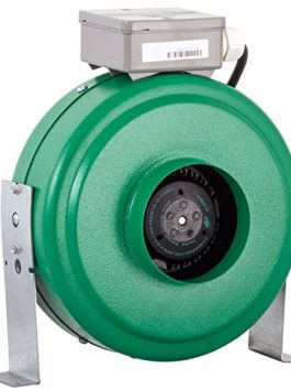 Hydrofarm Active Air 4 inch in-Line 165 CFM Fan, Green