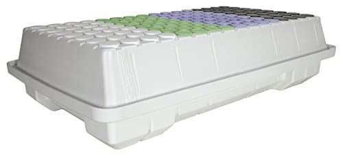EZ Clone HGC706384 Low Pro 128 Cloning System for Plant Clones & Cuttings, White Grow Tent Accessories