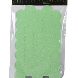 Ez-Clone Colored Cloning Collars Green (35/Bag) Grow Tent Accessories