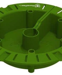 FloraFlex 760400 Round Flood & Drip Shield Quick Drip, Green