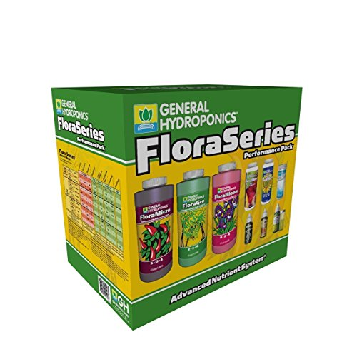 General Hydroponics Flora Series Performance Pack Grow Tent Accessories