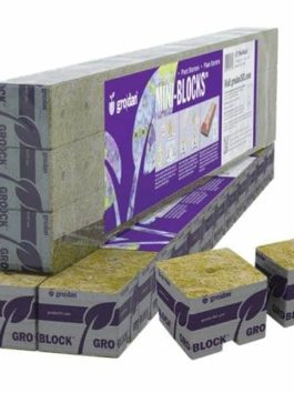 Grodan 1.5 Inch Starter Mini-Blocks MM40/40, 45 Count