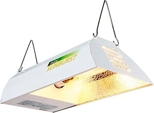 Mini Sunburst SBMM150S High Intensity Sodium Lighting System with 150W HPS Lamp Grow Lights