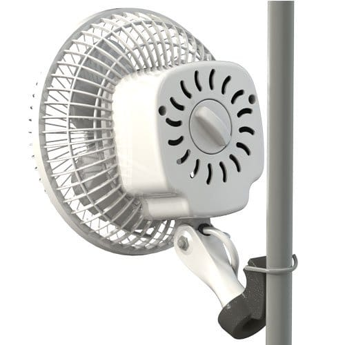 Secret Jardin Monkey Fan 13W Fits 0.63-0.75 Inch Grow Tent Poles Grow Tent Accessories