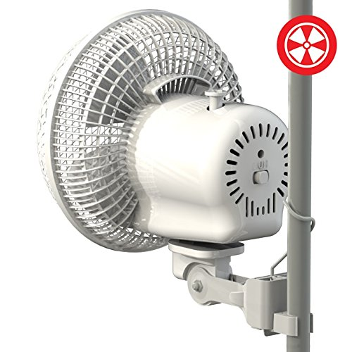 Secret Jardin Oscillating Monkey Fan 20W Fits 0.63u2033 u2013 0.83u2033 Inch Grow Tent Poles  sc 1 st  Smart Grow Tents & Secret Jardin Oscillating Monkey Fan 20W Fits 0.63