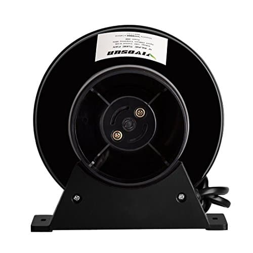 4 Inch Inline Fan : Vivosun cfm quot inch inline ventilation duct fan