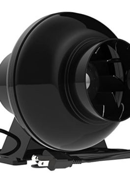 VIVOSUN 195 CFM 4″ Inch Inline Ventilation Duct Fan