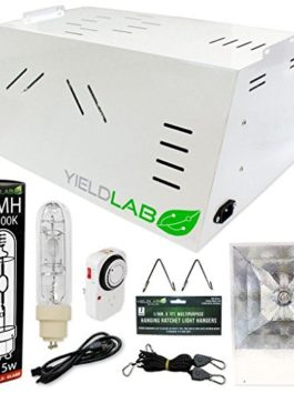 Yield Lab Professional Series 120/220v 315w All-In-One Hood CMH Complete Grow Light Kit