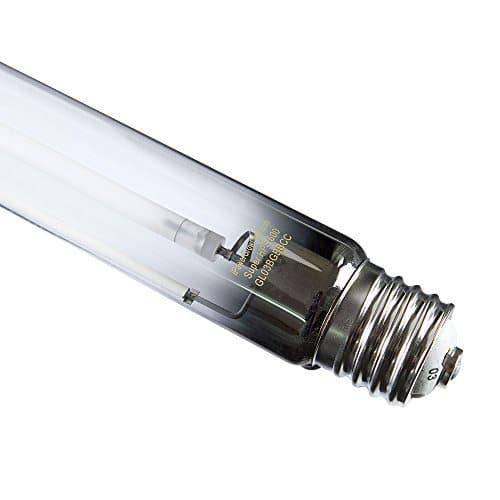 iPower 600 Watt High Pressure Sodium HPS Grow Light Bulb Lamp, High PAR Enhanced Red and Orange Spectrums CCT 2100K Grow Lights