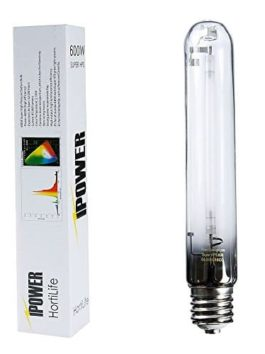 iPower 600 Watt High Pressure Sodium Super HPS Grow Light Lamp Bulb with Full Spectrum
