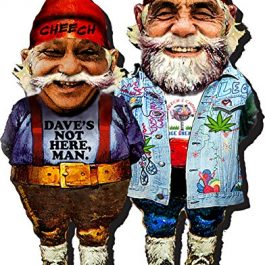 AQUARIUS Cheech and Chong Funky Chunky Magnet Cannabis Games