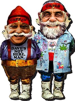 Aquarius Cheech and Chong Funky Chunky Magnet