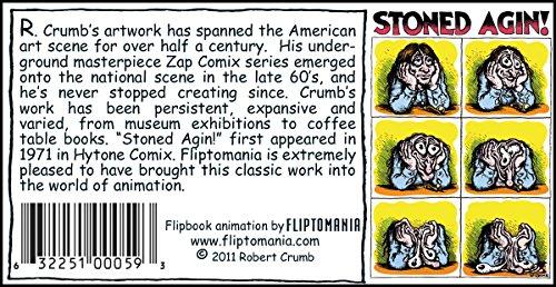 Fliptomania R. Crumb Flipbook – Stoned Agin! Cannabis Games