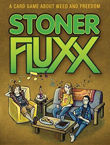 Fluxx Stoner Fluxx Cannabis Games
