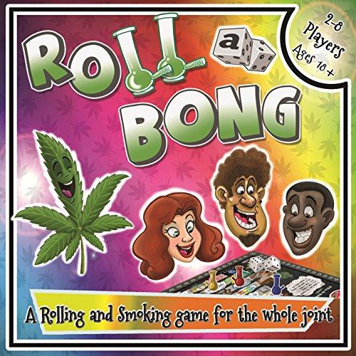 Roll-a-Bong Board Game Cannabis Games