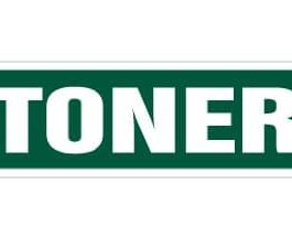 Stoner Street Sign | Indoor/Outdoor |  18″ Wide Plastic Sign