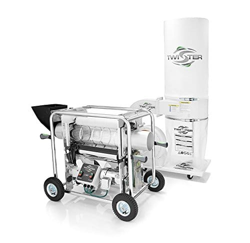 Twister T2 Trimmer Automatic bud Hop Trimming Machine Latest Model with Cannabis Trimming Machines