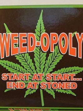 Weed-Opoly – Start At Start…End At Stoned! by Worldwise Imports